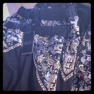 official color Shorts - Muscle shirt match short set